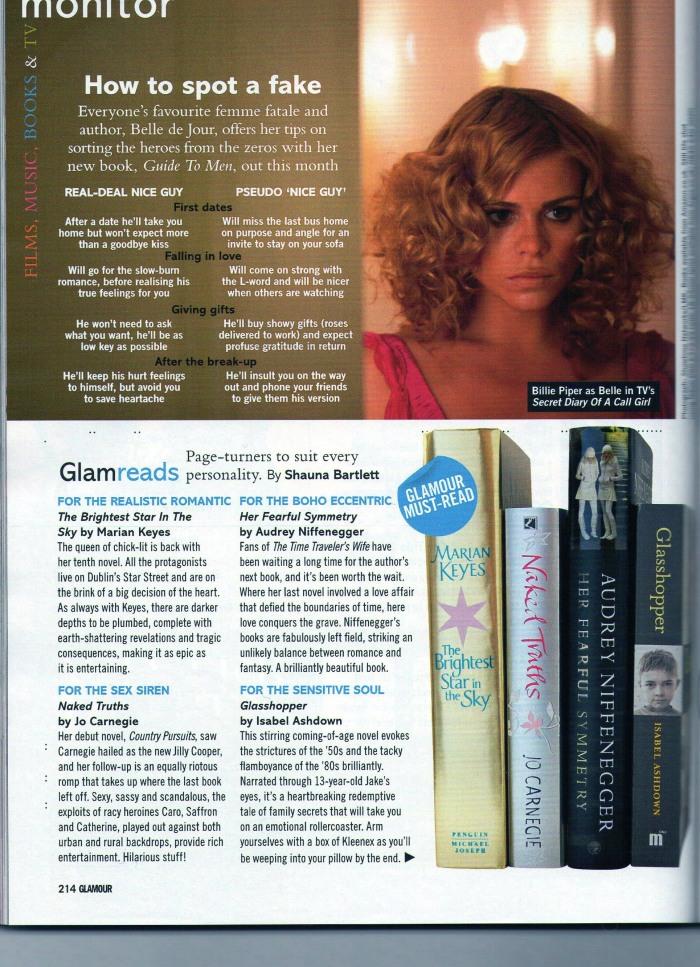 Glamour Glasshopper Review Nov 09 2