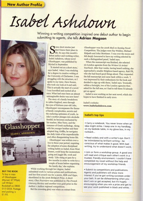 Writing Mag Isabel Ashdown Dec 09 2