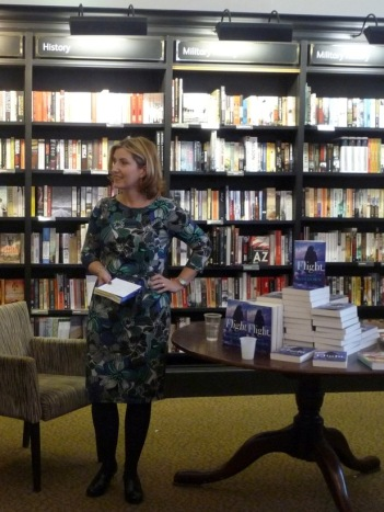 Flight Launch, Waterstones, 2015