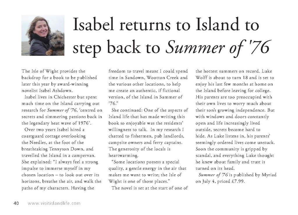 Island Life IsabelAshdown, April 2013_1
