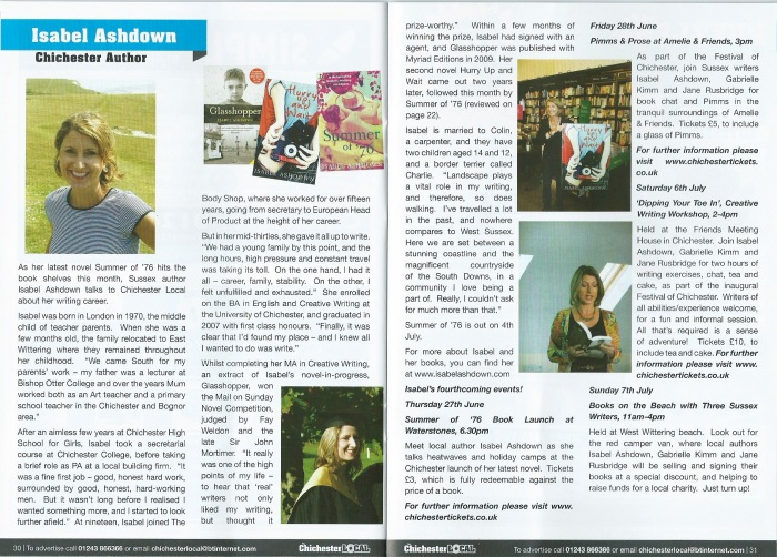 Chichester Local Feature, July 2013