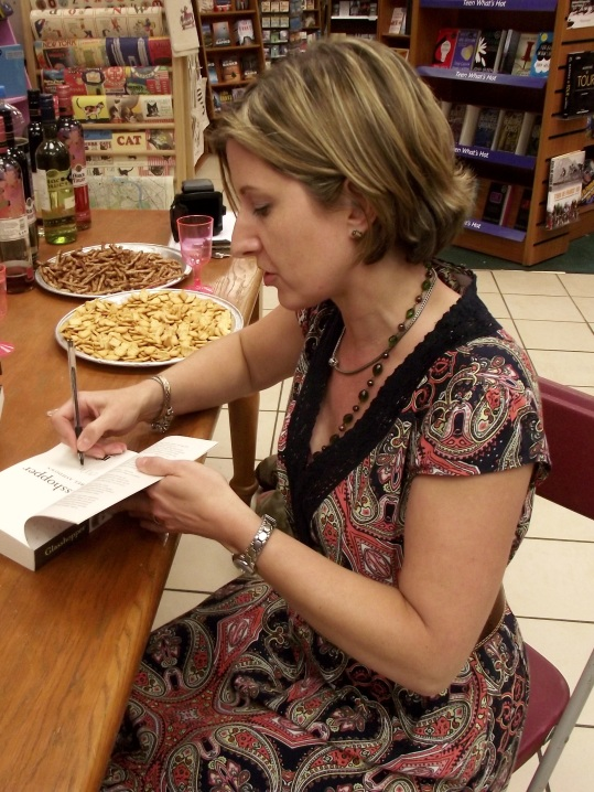 Signing (and twiglets)