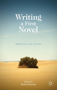 Writing a first novel Book Cover