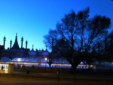 Brighton Pavilion, 2013