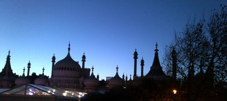 Brighton Pavilion Blog header