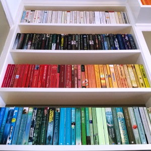 Colour Coded Shelfie