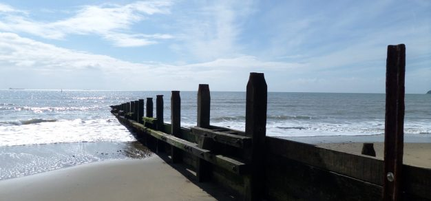 Yaverland beach