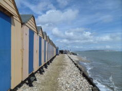 Shanklin beach huts