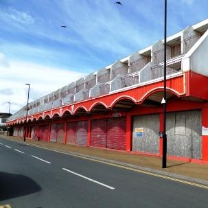 Abandoned arcade, Sandown
