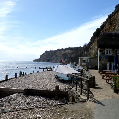 Shanklin beach