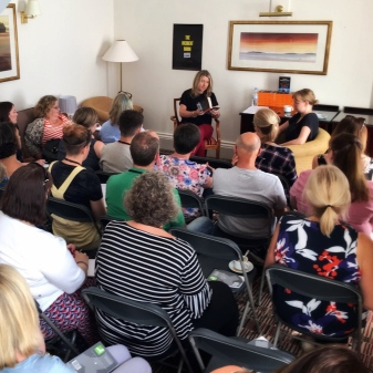 'Writing Fiction' at Theakston's Crime 2018