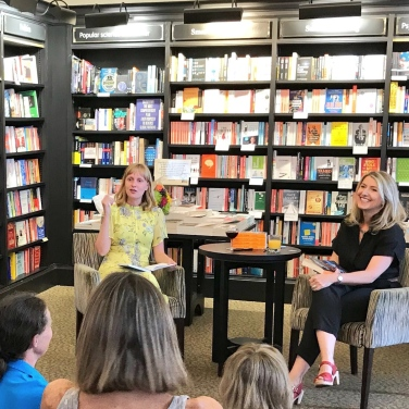 Beautiful Liars Launch, Waterstones Chichester, 2018