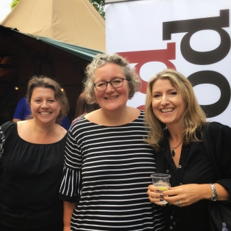 With Lisa Cutts and Elizabeth Haynes, Theakston's Crime 2018