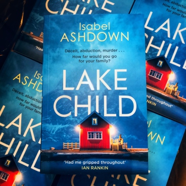 Lake Child thriller by Isabel Ashdown Box Delivery