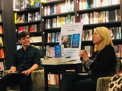 Lake Child Launch, Waterstones Chichester 2019