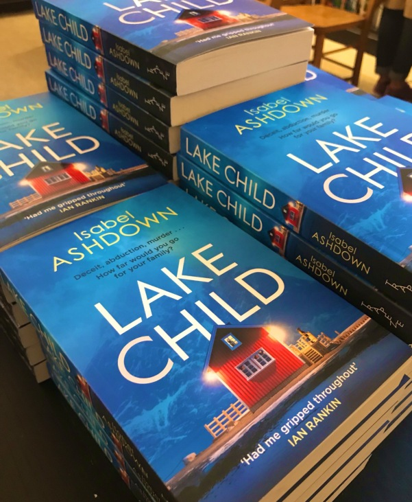 Lake Child thriller by Isabel Ashdown Launch 2019 #7