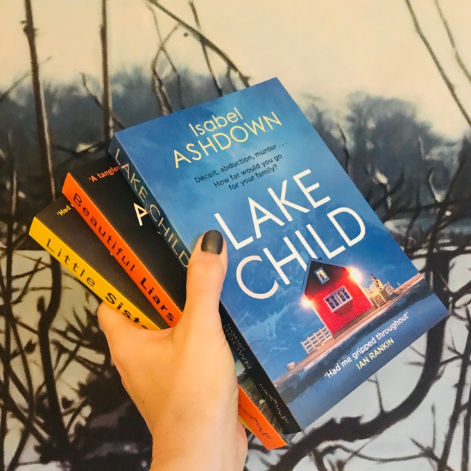 Win Isabel Ashdown Thriller Book Stack 2020